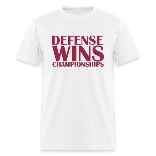 Defense Wins - Men's T-Shirt