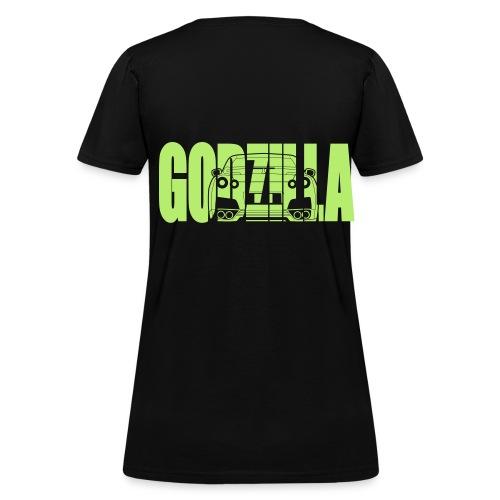 godzilla shirt - Women's T-Shirt