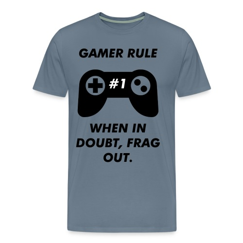 Gamer Rule #1 - Men's Premium T-Shirt