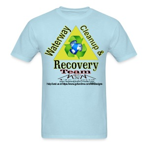 Waterway cleanup team logo - Men's T-Shirt