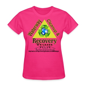 Waterway cleanup team logo - Women's T-Shirt