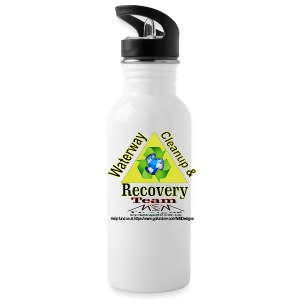 Waterway cleanup team logo - Water Bottle