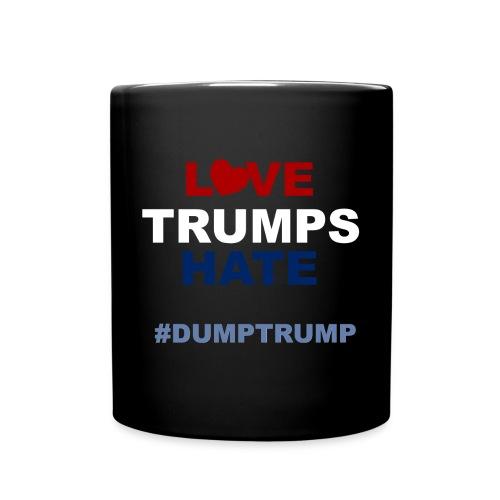 LOVE TRUMPS HATE - MMUG (BLACK) - Full Color Mug
