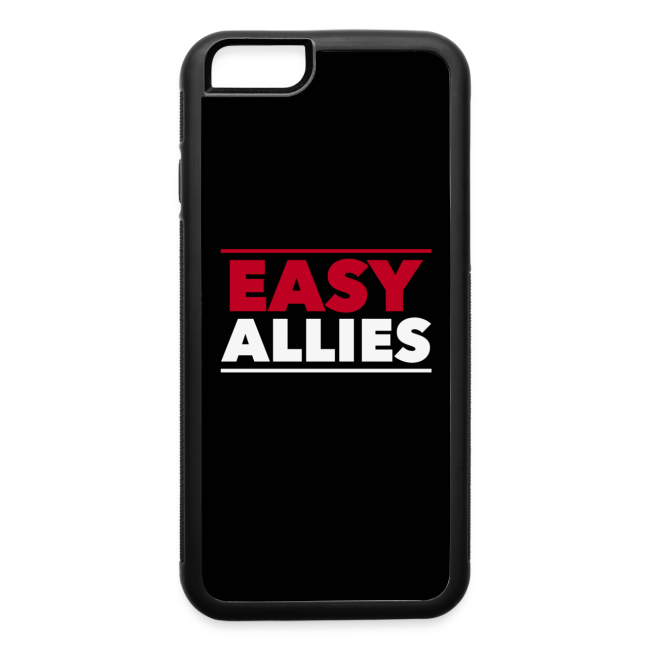 Easy Allies iPhone 6/6s Rubber Case