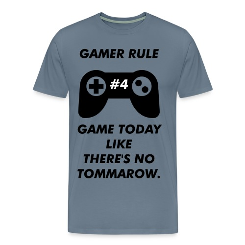 Gamer Rule #4 - Men's Premium T-Shirt
