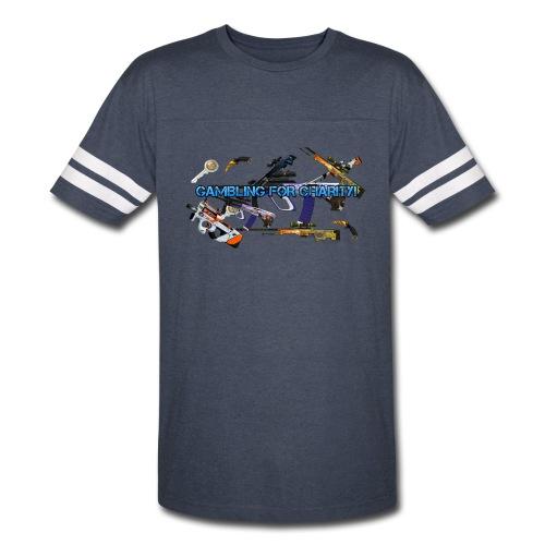 Gambling for Charity Sport T-Shirt - Vintage Sport T-Shirt