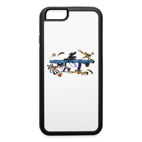 Gambling for Charity Rubber iPhone 6/6s Case - iPhone 6/6s Rubber Case
