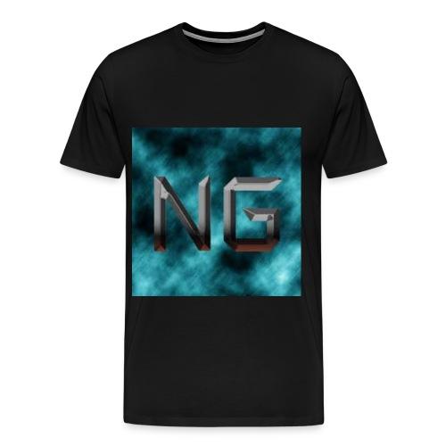 BIGGEST (PAUSE) LOGO  - Men's Premium T-Shirt