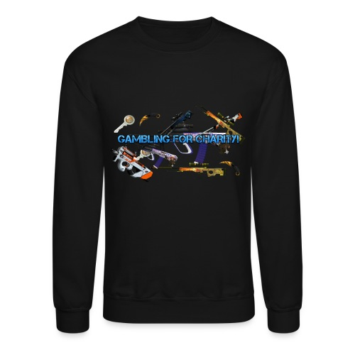 Gambling for Charity Crewneck - Crewneck Sweatshirt