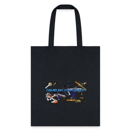 Gambling for Charity Tote Bag - Tote Bag