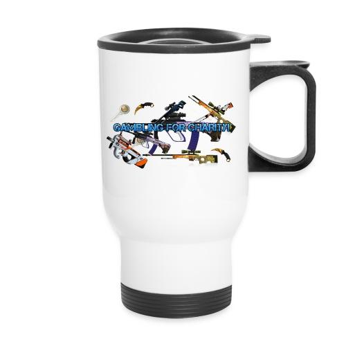 Gambling for Charity Travel Mug - Travel Mug