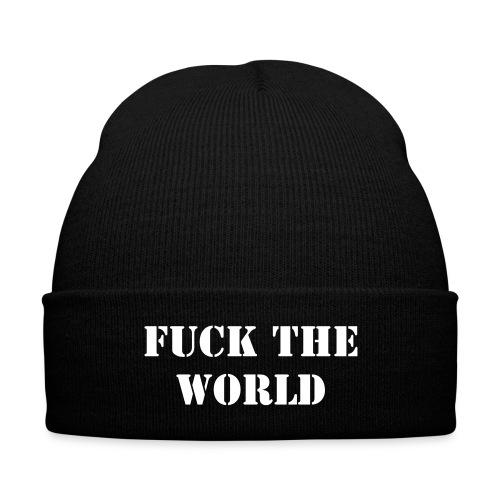 FTW Beanie - Knit Cap with Cuff Print