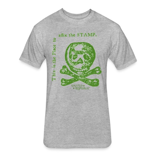 Stamp Act T - Fitted Cotton/Poly T-Shirt by Next Level