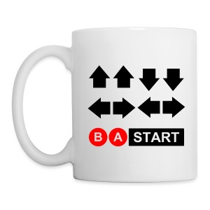 Contra Code Coffee / Tea Mug - 2 Sided - Coffee/Tea Mug