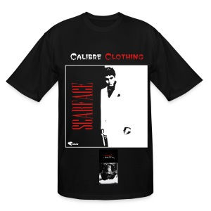 Calibre Scarface Resurrected Poly T-shirt by Next Level - Men's Tall T-Shirt