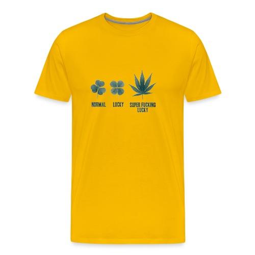 Super Fucking Lucky - Men's Premium T-Shirt
