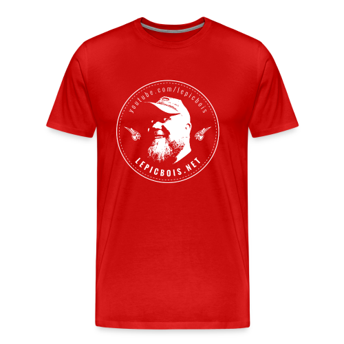 Le PicBois // Flat Pat Shirt - Men's Premium T-Shirt