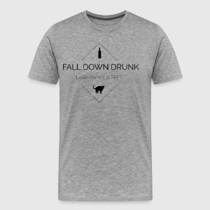 Fall down - Men's Premium T-Shirt