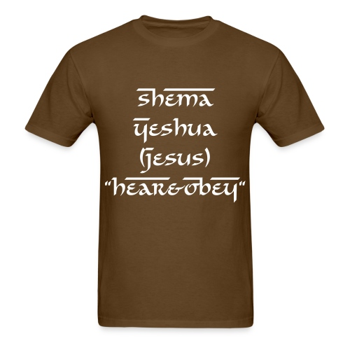 Shema Men Tee - Men's T-Shirt