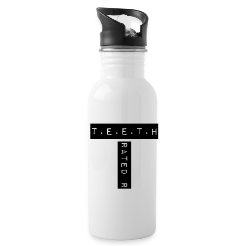 T.E.E.T.H Rated R Logo Water Bottle  - Water Bottle