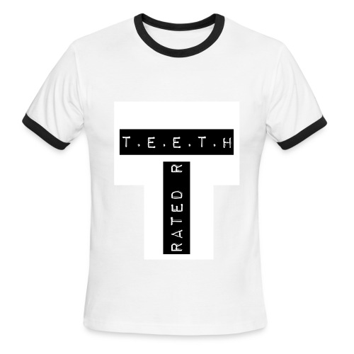 T.E.E.T.H Rated R Logo T-shirt Mens  - Men's Ringer T-Shirt