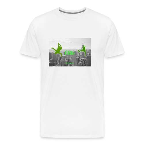 Elite Free running team shirt   - Men's Premium T-Shirt