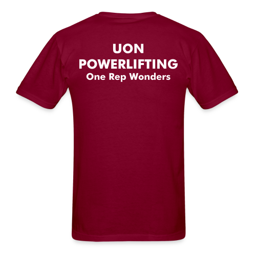 Maroon Shirt - Men's T-Shirt