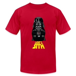 I Don't Give a Sith - Men's T-Shirt by American Apparel