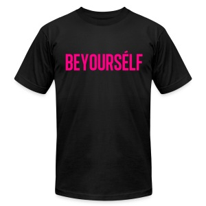 Beyourself - Men's T-Shirt by American Apparel