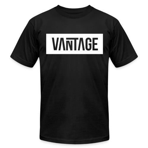 Black Vantage Tee  - Men's Fine Jersey T-Shirt