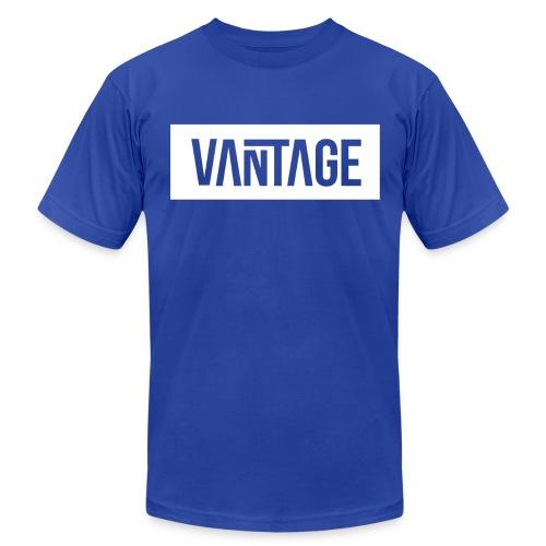 Blue Vantage Tee  - Men's Fine Jersey T-Shirt