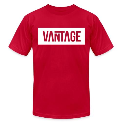 Red Vantage Tee  - Men's Fine Jersey T-Shirt