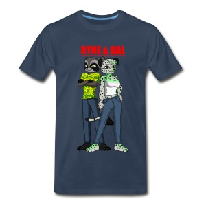 Men's Ryne & Dal Duo T-Shirt - Men's Premium T-Shirt