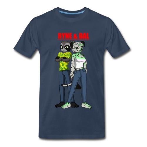 Men's Ryne & Dal Duo T-Shirt - Men's Premium T-Shirt