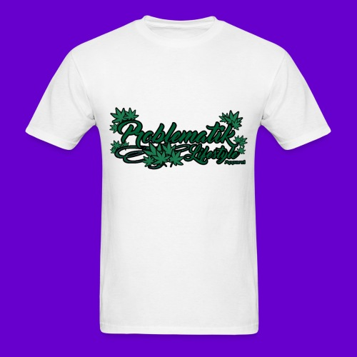 Problematik Lifestyle Weed T-shirt - Men's T-Shirt