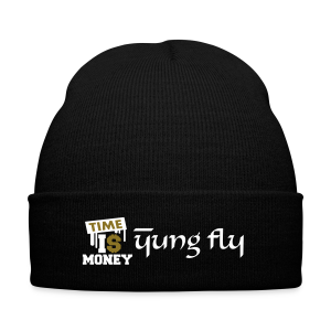 Time Is Money - Yung Fly - Knit Cap with Cuff Print