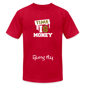 Time Is Money - Yung Fly - Men's T-Shirt by American Apparel
