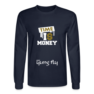 Time Is Money - Yung Fly - Men's Long Sleeve T-Shirt