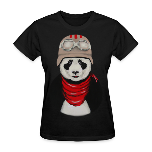Panda pilot - Women's T-Shirt