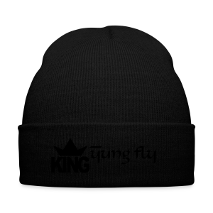 King Yung Fly - Knit Cap with Cuff Print