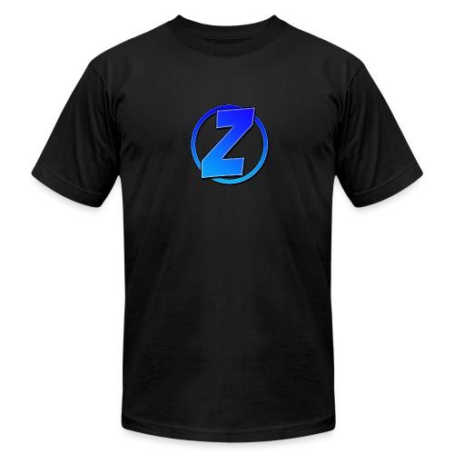 Blue Ziffy Logo Shirt - Men's Fine Jersey T-Shirt