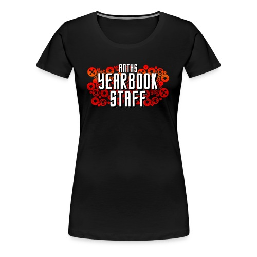Female Red ANTHS Yearbook Staff - Women's Premium T-Shirt