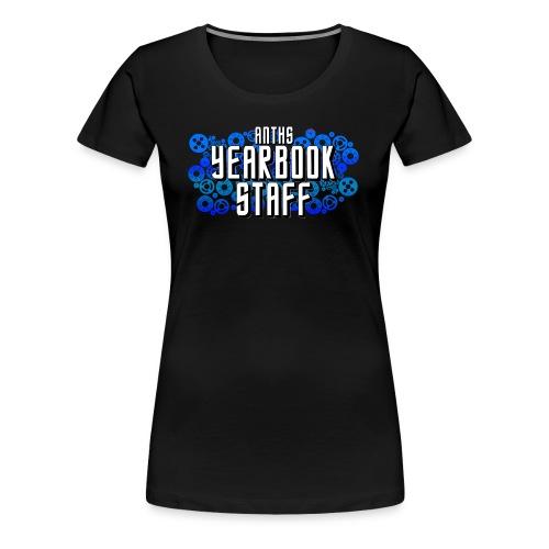 Female Blue ANTHS Yearbook Staff - Women's Premium T-Shirt