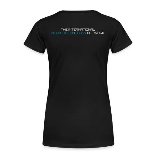 NeuroTechX- T-shirt ***Premium*** Women #2 - Women's Premium T-Shirt
