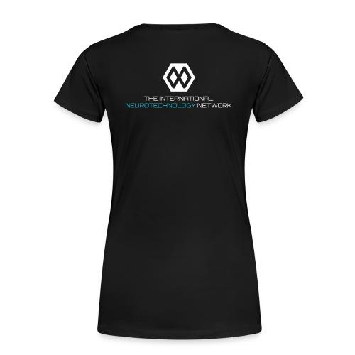NeuroTechX- T-shirt ***Premium*** Women #3 - Women's Premium T-Shirt