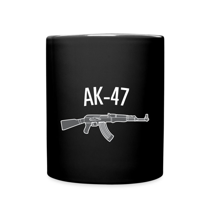 ak 47 coloring pages - ak 47 full color mug spreadshirt