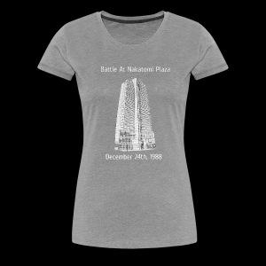 Nakatomi Plaza Shirt - Women's Premium T-Shirt