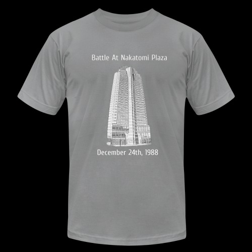 Nakatomi Plaza Shirt - Men's Fine Jersey T-Shirt
