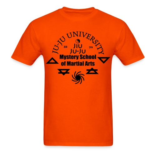 Jiu Jitsu Ju-Ju University T-Shirt - Men's T-Shirt