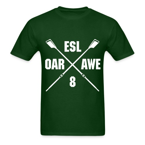 Oar Inspiring (Green) - Men's T-Shirt